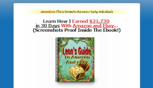 [GET] [$5 PLR RIGHTS] Leon Trans 30 Day To $21,730 With AMAZON And EBAY   5 DAY SALE!