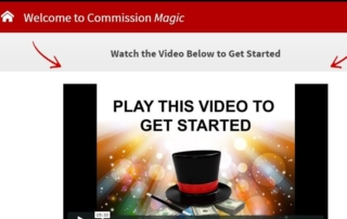 commission magic review dashboard