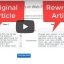 Spin Rewriter Review – Video Walkthrough Overview