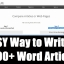 How to Create Content Quickly With PLR Articles