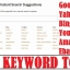 Find Trending Keywords With Free Search Suggestion Tool