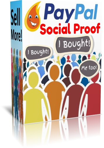 Paypal Social Proof Plugin